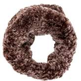 Glamour Puss Glamourpuss Fur Knit Snood