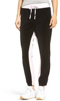 Juicy Couture Women's Silverlake Colorblock Velour Track Pants