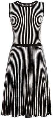 Rumour London Sienna Striped Fit-And-Flare Dress