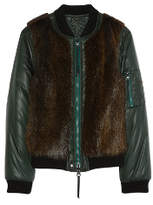 Tory Burch Kelsey Reversible Bomber Jacket