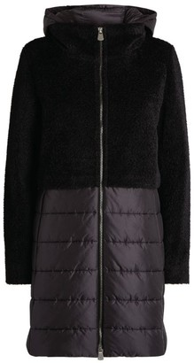 Cinzia Rocca Wool-Alpaca Hooded Coat
