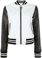 Philipp Plein 25 bomber jacket - women - Sheep Skin/Shearling/Viscose - S