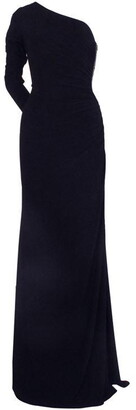 Adrianna Papell One Shoulder Jersey Dress