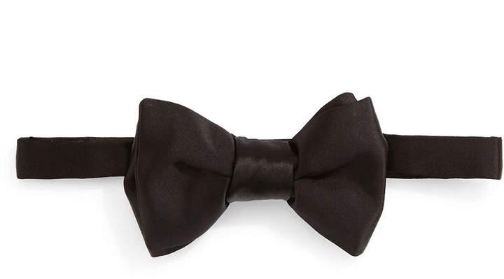 4efd3bdd1c3f Silk Bow Tie Shirt - ShopStyle