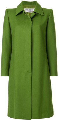 Saint Laurent Pre-Owned button up vintage coat