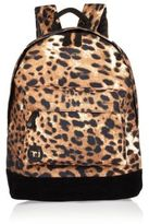 River Island Girls brown leopard print Mi-Pac backpack