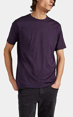 Sunspel Men's Cotton T-Shirt - Purple