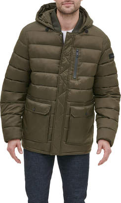 Kenneth Cole New York Men's Quilted Jacket with Bib