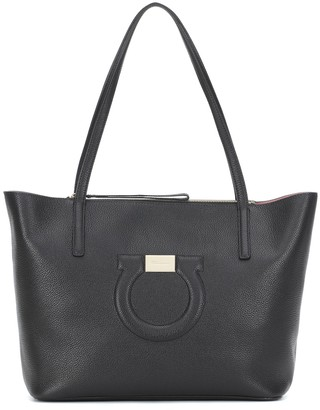 Salvatore Ferragamo City leather tote