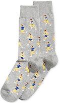 Hot Sox Men's Patterned Socks
