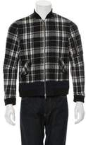 Timo Weiland Plaid Bomber Jacket w/ Tags