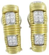 Roberto Coin 18K Yellow Gold Appassionata Diamond Earrings