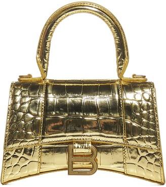Balenciaga Hourglass XS Top Handle Tote Bag