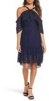 Adelyn Rae Women's Tracy Cold Shoulder Lace Dress