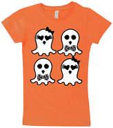 Micro Me Orange Ghost Tee - Toddler & Girls