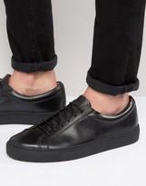 Frank Wright Eddie Lo Sneakers In Black