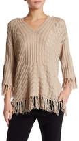 Trina Turk Cleo Fringe Sweater