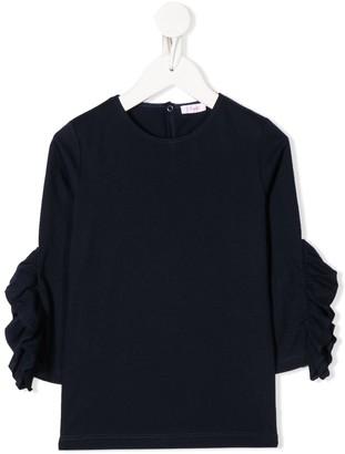 Il Gufo ruffle trim T-shirt