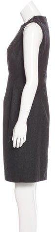 Magaschoni Wool Sheath Dress