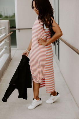 Summer Stripe Tank Dress