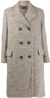 Aspesi Double-Breasted Midi Coat