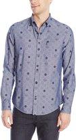 Ben Sherman Men's The Beatles Long Sleeve Button Down Shirt