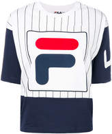 Fila cropped logo T-shirt