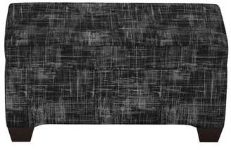 Brayden Studio Stutler Linen Upholstered Storage Bench