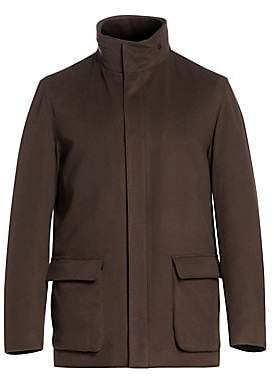 Loro Piana Men's Winter Voyager Cashmere Overcoat