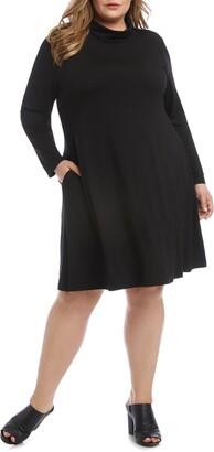 Karen Kane Quinn Long Sleeve Turtleneck Dress