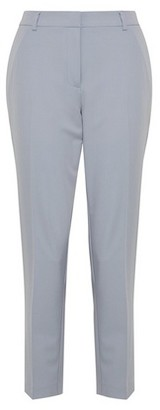 Dorothy Perkins Womens Silver Ankle Grazer Trousers, Silver