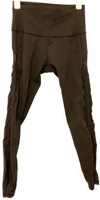 Lululemon Black Synthetic Trousers