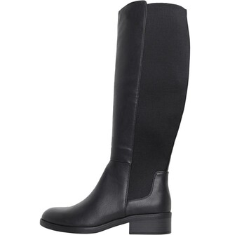 Board Angels Womens Knee High Boots Black