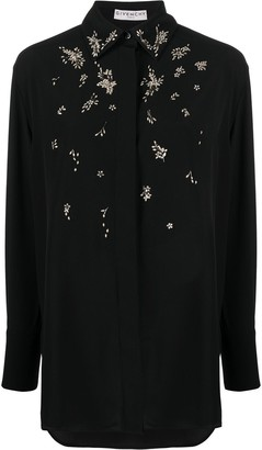 Givenchy Bead-Embellished Blouse