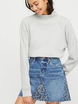 Free People Way Back When Denim Mini Skirt