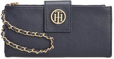 Tommy Hilfiger Leather Chain Wristlet Wallet