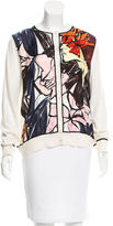 Christian Dior Printed Silk Cardigan