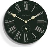 Newgate Clocks - Tempus Clock - Platform Green - 50cm dia