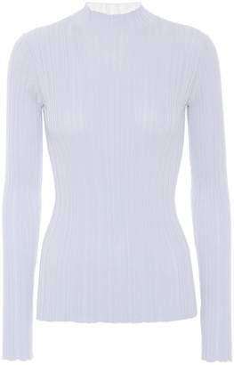 Acne Studios Ribbed cotton-blend top