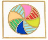 Ariella Collection Beach Ball Enamel Ring