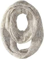 D&Y Women's Marled Knit Loop with Metallic Yarn