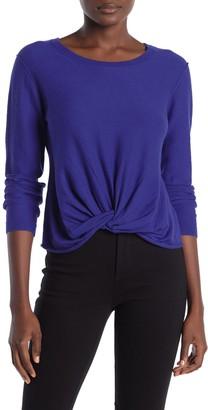 Splendid Twist Front Sweater