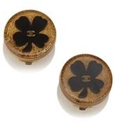 Chanel Pre-owned: Enamel Flower Earrings.