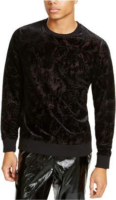 INC International Concepts Inc Men Flocked Pullover Sweater