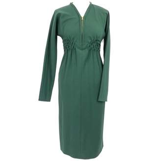David Szeto \N Green Wool Dress for Women