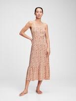 Thumbnail for your product : Gap Squareneck Fit & Flare Midi Dress