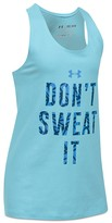 Under Armour Girls' Don't Sweat It Tank - Big Kid