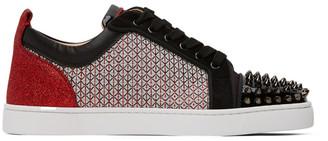 Christian Louboutin Multicolor Louis Junior Spike Orlato Sneakers