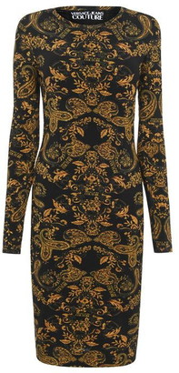 Versace Jeans Couture Baroque Mini Dress