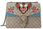 Gucci Women's Beige Canvas Shoulder Bag.